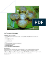 Muffins Yogurtosi Alla Grappa