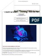 How to Start _Thinking_ With the Heart