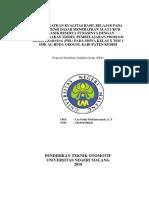 Proposal PTK Lia Fatul MUkharomah 1