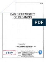 Basic Chemistry of Cleaning