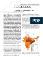 Climate Change and Malaria in India