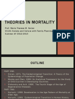 Theories in Mortality