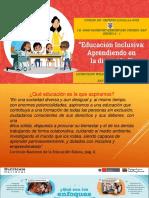 EDUCACION INCLUISIVA 2018
