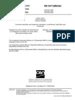 F-E Concrete Manholes and Inspection Chambers EU Standard
