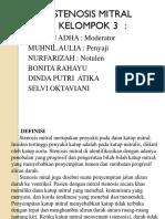 Kelompok 3 Stenosis Mitral