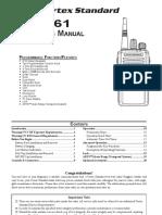 Vertex Vx 261 Owners Manual