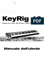 M-Audio KeyRig 49_Manuale Utente
