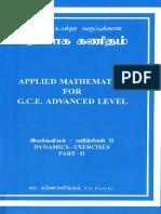Applied Maths Dynamics 2 A/L