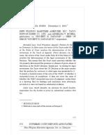 12 - New Filipino Maritime Agencies, Inc. vs. Datayan