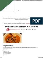 Bouillabaisse Chef Simon