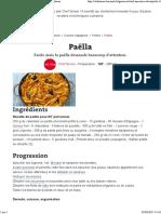 Paella Chef Simon