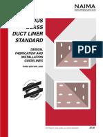 Duct Liner Standard