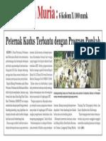 07 - Iklan Pemkab - Bantuan Ternak Kambing - Koran Muria