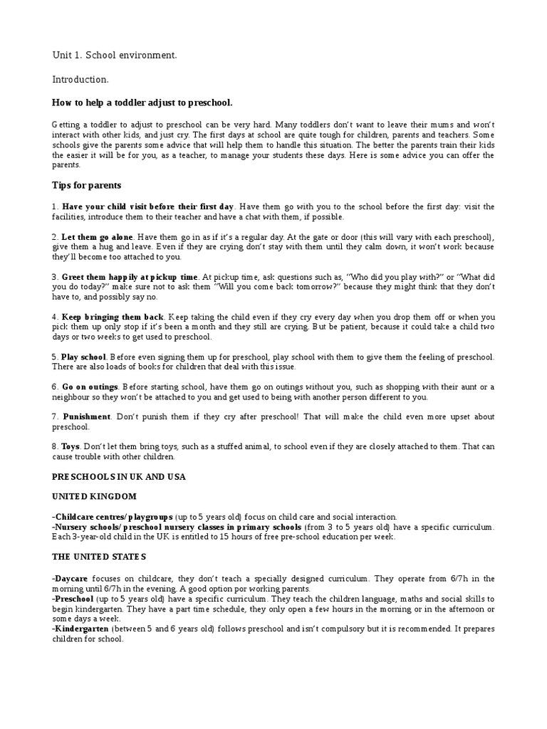 Libro Ingles II | Preschool | Child Care