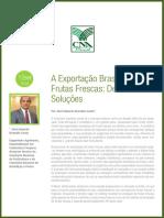 A Exportação Brasileira de  Frutas Frescas