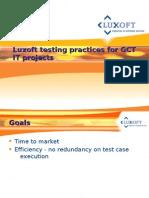 GDP Rich UI-Testing Practice