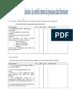 Questionnaire de La Phase d'Évaluation Préliminaire