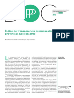 Indice de Transparencia Cippec