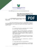 Lei Complementar No 364 de 30 de Setembro de 2008