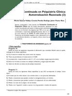 103 Formacion Continuada en Psiquiatria Clinica Autoevaluacion Razonada