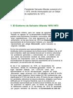 Gobierno de Salvador Allende