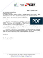Of.circ. Nº 001-2019-CES - Resoluções Publicadas Em DOE
