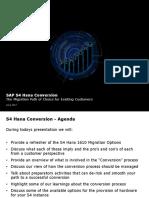 Deloitte - S4 Hana Conversion