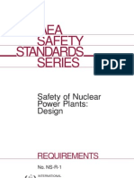 NS-R-1 Safety of Nuclear Power Plants - Design