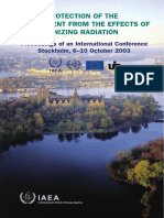 - Protection of Env. From Effects of Ionizing Radiation [Intl Conf] (IAEA Pub 1229) (2005)