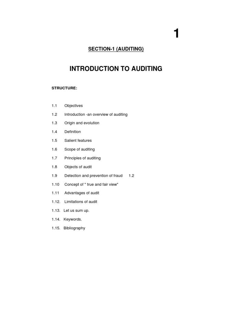 Study TYBCom Accountancy Auditing-II | Audit | Financial Audit