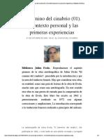 El Camino del cinabrio (01). El context...ras experiencias | Biblioteca Evoliana