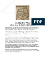 8fold Wheel of Druid Festivals