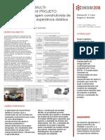Integração de Multidesempenho Em Projeto - Aplicação de Abordagem Construtivista de Apoio à Decisão Em Experiência Didática