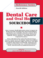 Dental Care and Oral Health Sourcebook - Omnigraphics; 2 Sub edition (November 1, 2003).pdf