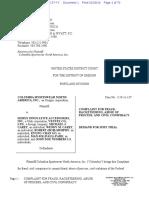 Columbia v. Seirus II - Complaint