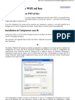 Créer un réseau WiFi ad hoc