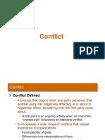 Conflict (MBA)