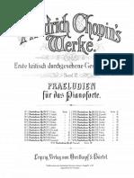 24 Preludios Chopin