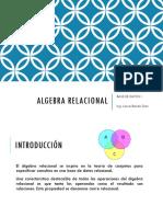 08 Base de Datos I - Álgebra Relacional
