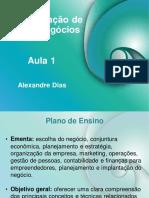 PDF Das Aulas - Adm Novos Negocios