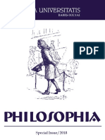 Studia Philosophia UBB Special Issue