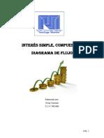 Trabajo Interés Simple, Compuesto y Diagrama de Flujo de Caja