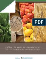 Cadenas de valor agroalimentarias evolución y cambios estructurales en el siglo XXI