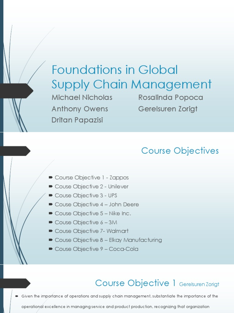 GSCM520_W6_Inventory Management Study D40562330 | Supply