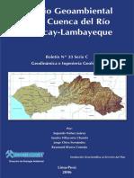 C033-Boletin-Estudio Geoambiental Cuenca Rio Chancay-lambayeque