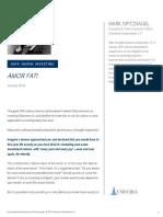 Spitznagel - Safe Haven Investing - P5 - Amor Fati