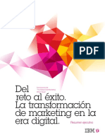 Del reto al éxito.  La transformación de marketing en la era digital