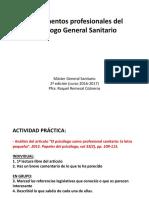 1. Fundamentos Profesionales Del Psicólogo General Sanitario (1)