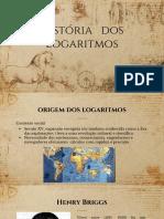 historia dos logaritmos