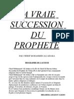 Les Verites de la succession du Prophète Cor